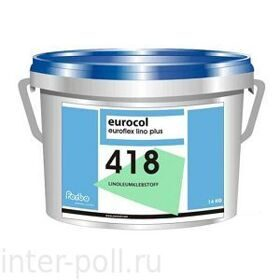 Клей для мармолеума Forbo 418 Euroflex Lino Plus (14 кг)